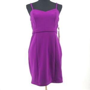 Hailey Logan by Adrianna Papell NWT Purple Dress